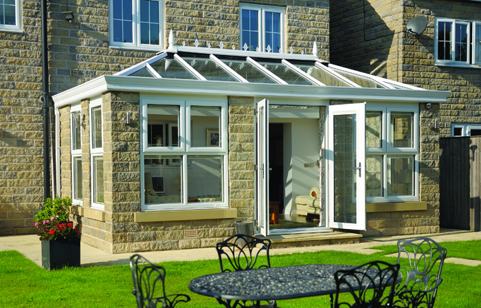 Conservatory in Jersey