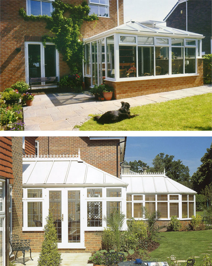 Georgian Style Conservatory in Jersey