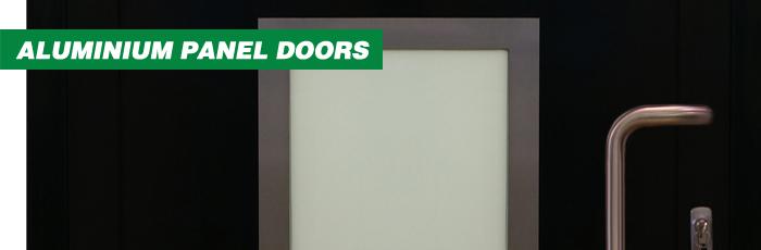 Jersey Aluminium Panel Doors
